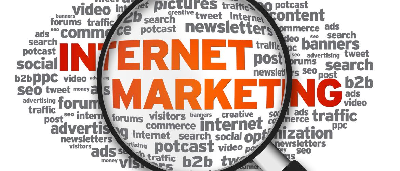 Internet Marketing vergrootglas